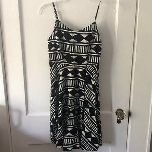 Black and white cami dress from old navy. Size xs